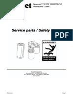 1 Service Parts Labels