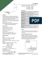 FONTE EPW30 48AManual Do Produto