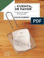 Rubert David - La Cuenta Por Favor