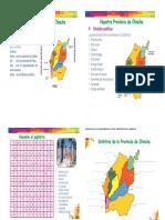 Completa Los Nombres de Los Distritos de Chincha