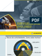 Charla de Seguridad Discos Corte y Desbaste Klingspor(1)