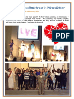 Newsletter No 66 - 15th February 2019