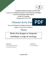 Étude D'un Hangar En Charpente Métallique A Usage De Stockage.pdf