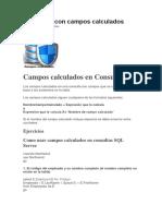 Consultas Con Campos Calculados