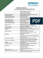 Spesifikasi produk HBP1100