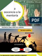 Mentoría, estrategia para la inducción docente