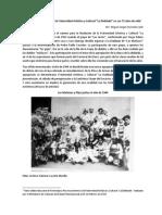 Breve Reseña Histórica de La Fraternidad Artística y Cultural