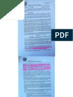 Reglamento y Decreto Valparaíso