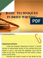 legal report