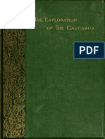 Exploration of the Caucasus Vol I