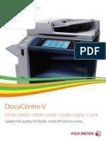 DocuCentre-V C7776 Brochure