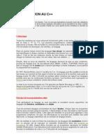 Cours c++ Pour Les Nuls