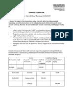 Financials Assignment