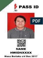 Template PASS ID