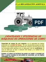 Costos y Eficiencia Mecanización Agrícola