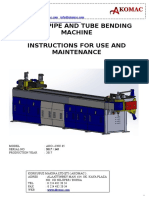 Ako- Cnc65 Tube Bending Machine
