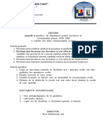 Citerii - Inscriere in Inv. Primar 2019-2020