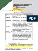 PRODUÇÃO TEXTUAL INTERDISCIPLINAR - Ética, Comportamento e Contabilidade nas organizações, com ênfase na Qualificação e Profissionalização de Excelência