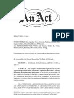 Senate Bill 18-144