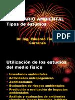 Inventario Ambiental-estudio Medio Fisico
