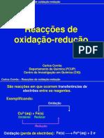 Reacoes Redox Original