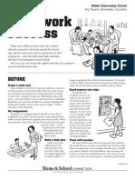 newsletter homework