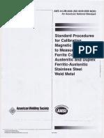 Standard Procedures for Calibrating Magmeter Feritte.pdf