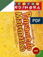 GUIA PARA EL DESARROLLO DEL PENSAMIENTO MATEMATICO 1