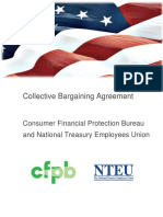 CFPB NTEU Chapter 335 Collective Bargaining Agreement