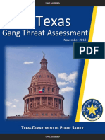 TX Gang Threat Assessment 2018