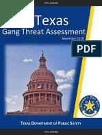 TX Gang Threat Assessment 2018