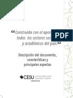 CESU-Política pública en educación