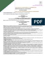 Ley de Reconstruccion Cdmx