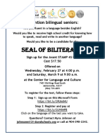 2019 Seal of Biliteracy Flyer-DCPS Students