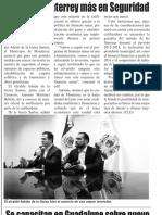 26-02-19 Invertirá Monterrey más en Seguridad