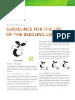 EUBP Guidelines Seedling Logo