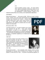 Autores de Centro América