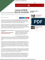 G1 - Justiça define indenização de R$ 90 mil a funcionário vítima de homofobia