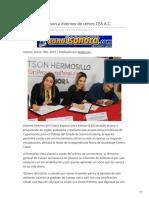 15-01-2019 - Capacitará Icatson a internos de centro CEA AC - Canalsonora.com