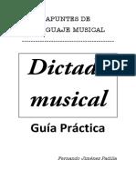 PDF Dictado Musical Guc3ada Prc3a1ctica