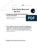 study guide for earth moon and sun