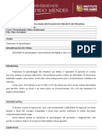 Matriz Analitica Psicopedagogia Clínica