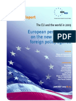 European Perspectives on the New American Foreign Policy