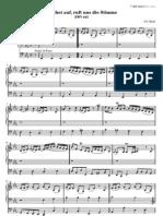[Free com Bach Johann Sebastian Wachet Auf Ruft Uns Die Stimme 2394
