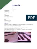 Anneaux au chocolat