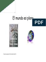 Resumen Del Libro El Mundo Es Plano