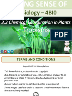 Chemical Coordination in Plants