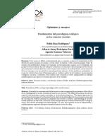Texto 1 - Fundamentos Del Paradigma Ecológico en Las Ciencias Sociales