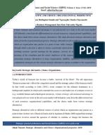 Strategic Alternative and Choice Sjbss