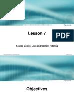 Asa - Access Control List